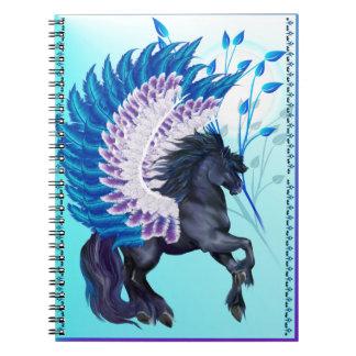 青によって飛ぶペガソス ノートブック