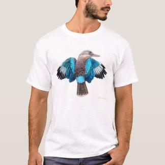 青によってKookaburraの飛ぶTシャツ Tシャツ
