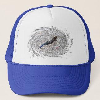 青によってSkinkの後につかれる帽子 キャップ