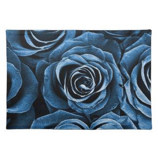 青のばら色の花束 ランチョンマット