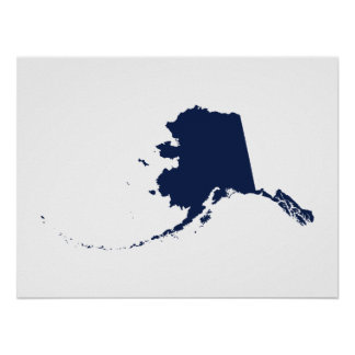 青のアラスカ ポスター