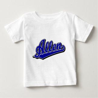 青のアレン ベビーTシャツ
