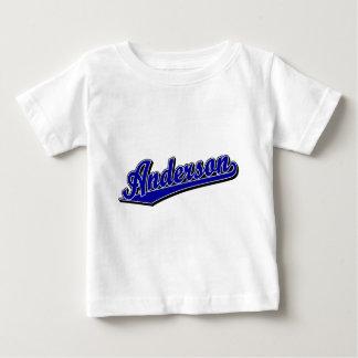 青のアンダーソン ベビーTシャツ