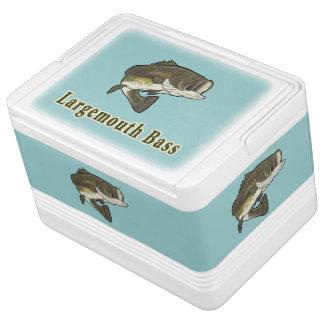 青のオオクチバス クールボックス