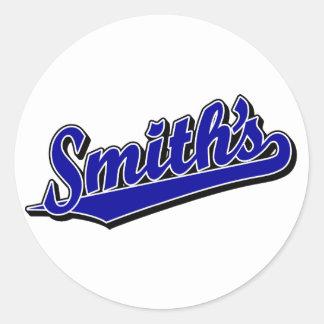 青のスミス ラウンドシール