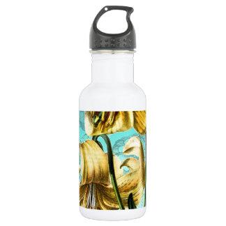 青のトラLilly ウォーターボトル