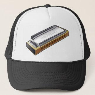 青のハーモニカ-帽子 キャップ