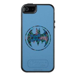 青のバラのこうもり信号 オッターボックスiPhone SE/5/5s ケース