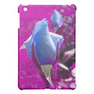 青のバラの芽のiPadの場合 iPad Mini カバー