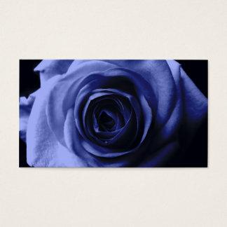 青のバラ 名刺