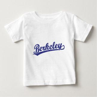 青のバークレーの原稿のロゴ ベビーTシャツ