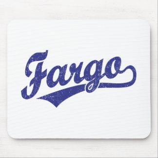 青のファーゴの原稿のロゴ マウスパッド