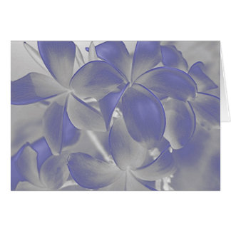 青のプルメリアの錯覚 カード