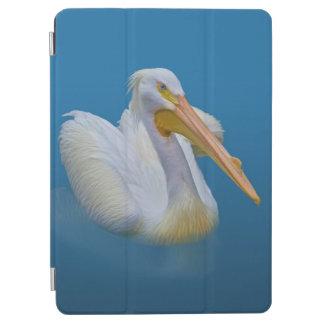 青のモモイロペリカンの鳥 iPad AIR カバー