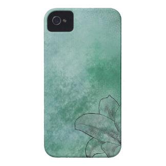 青のユリ iPhone 4 Case-Mate ケース