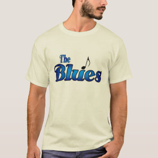 青のワイシャツ Tシャツ