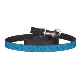 青の万華鏡のように千変万化するパターンの犬用リーシュ ペットリード