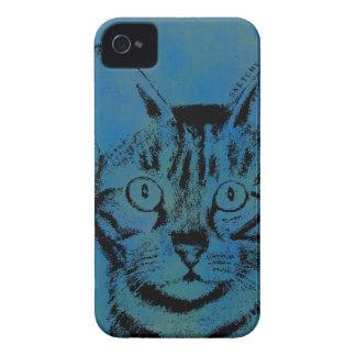 青の不完全な猫 Case-Mate iPhone 4 ケース