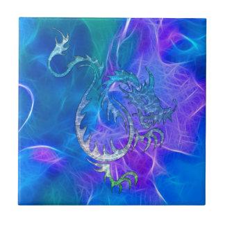 青の中国のなドラゴンIV タイル
