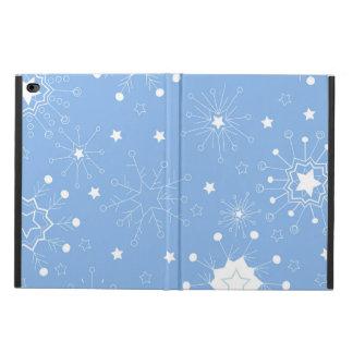 青の休日の雪片 POWIS iPad AIR 2 ケース