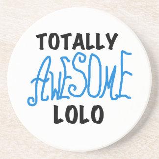 青の全く素晴らしいLoloのTシャツおよびギフト コースター