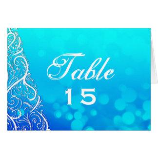 青の冬によってはテーブル数カードが活気づきます カード