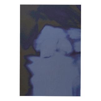 青の川 ウッドウォールアート