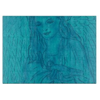 青の平和な天使 カッティングボード