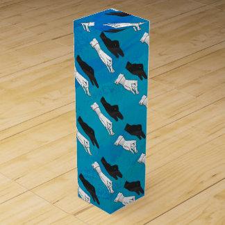 青の影のアヒル ワインギフトボックス