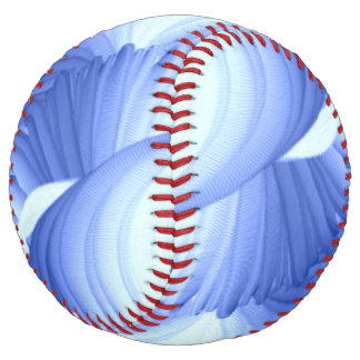 青の抽象芸術の陰 ソフトボール