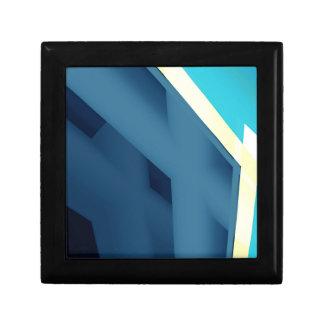 青の抽象芸術 ギフトボックス