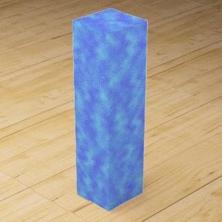 青の抽象芸術 ワインギフトボックス