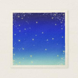 青の星 スタンダードカクテルナプキン