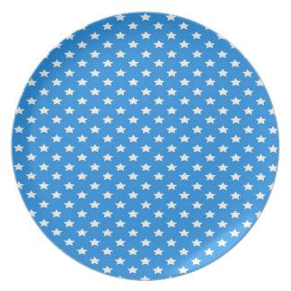 青の星 プレート