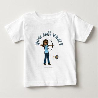 青の暗いアーチェリー ベビーTシャツ