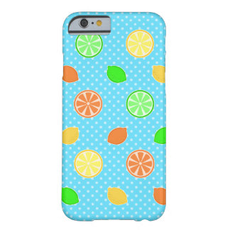 青の柑橘類の至福 BARELY THERE iPhone 6 ケース