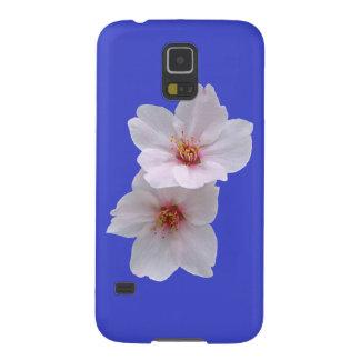 青の桜 GALAXY S5 ケース
