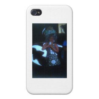 青の歌手 iPhone 4/4S ケース