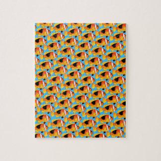 青の火のClownfishパターン ジグソーパズル
