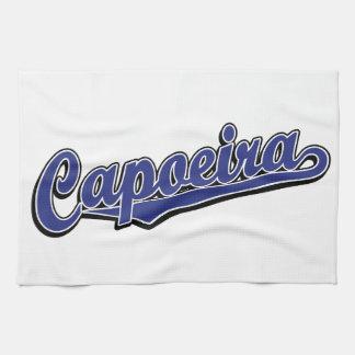青の空想のCapoeira キッチンタオル