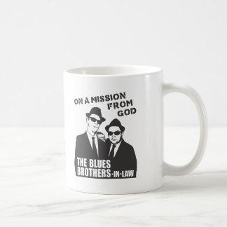 青の義理の兄弟のマグ コーヒーマグカップ