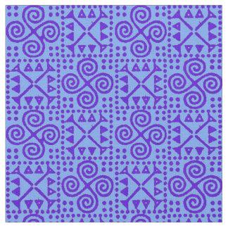 青の色合いでグランデBianca ファブリック
