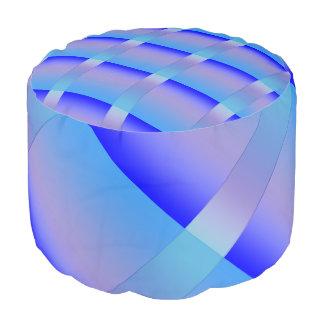 青の色合い プーフ