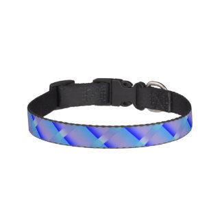 青の色合い ペット首輪