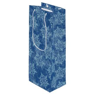 青の雪片 ワインギフトバッグ