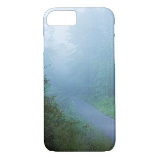 青の霧 iPhone 8/7ケース