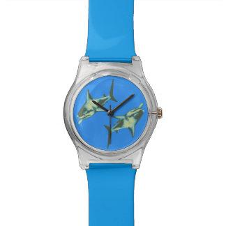 青の鮫 腕時計