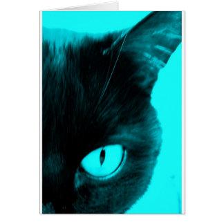 青の黒猫 カード