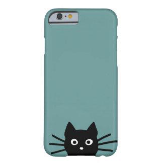 青の黒猫(色はカスタマイズ可能です) iPhone 6 ベアリーゼアケース