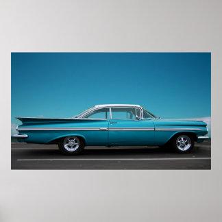 「青の59 Chevy ポスター